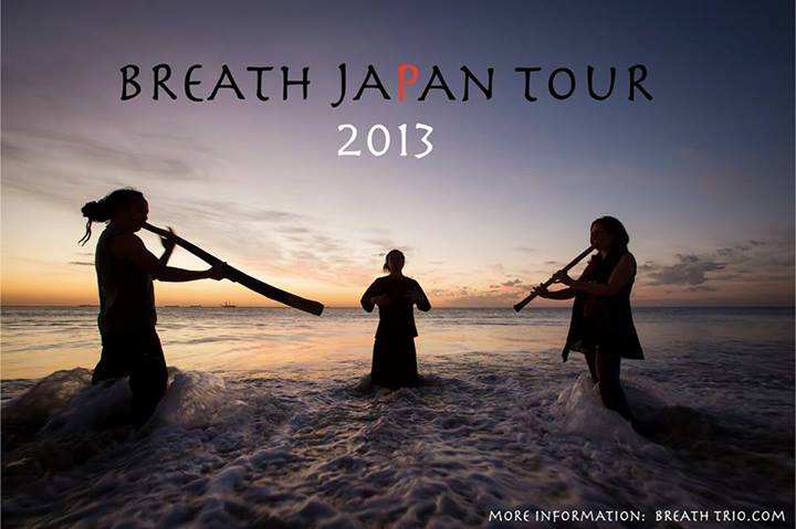 Breath Trio Japan Tour 2013