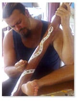Didgeridoo Maker Earl Clements