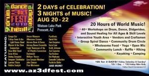 3D Didgeridoo Festival Arizona USA