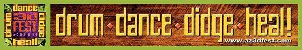 3D Festival Drum Dance Didge