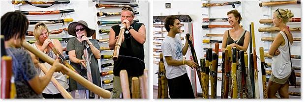Didge Lesson at Didgeridoo Breath