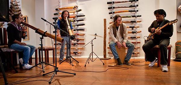 Victor Wooten Didgeridoo Breath Jam