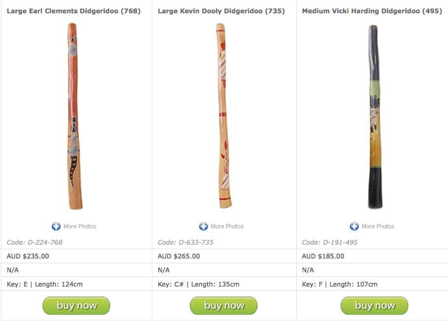 compare products, online didgeridoo store